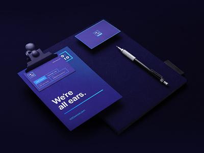 1010Wired Corporate Identity identity corporate inspiration branding dark black design