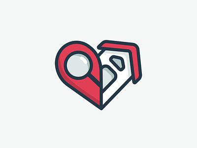 eFindCare Logo Design inspiration caregiver heart branding logo design