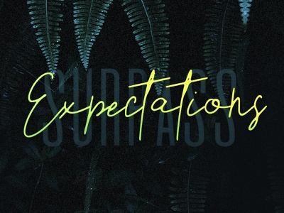 Surpass Expectations expectations surpass inspiration motivation quote dark minimal design typography