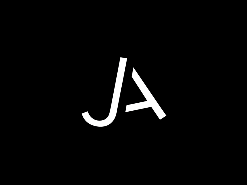 Personal Logo for Free Coasters, Yay! branding and identity branding wordplay monogram ja black inspiration dark typography minimal logo design