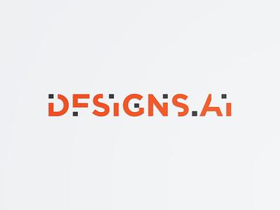 Designs Ai #2 technology tech pixel design typeface font logo typography