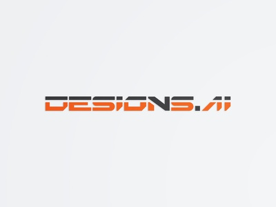 Designs Ai #3 design industrial technology tech future logotype typeface font typography logo