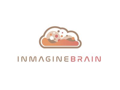 Inmagine Brain logo #3 concept cloud logo technology tech ai brain
