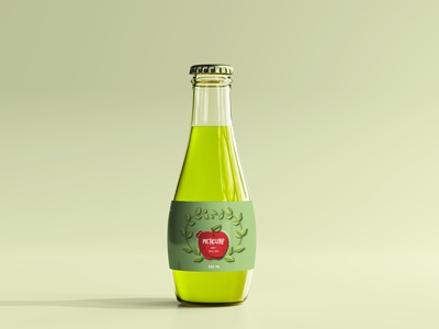 Apple Juice packaging design graphic design juice apple juice label design label