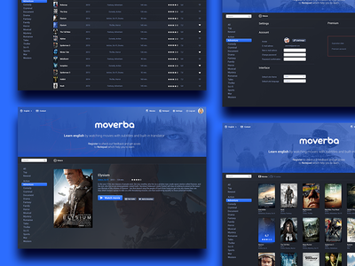 Moverba - Web design movie learn learn languages learn english web design movie web movie online serials movies movie learn film cinema