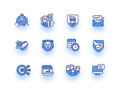 Icon set citizen icon design icon set public law icon