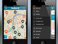 Haulivery iOS App