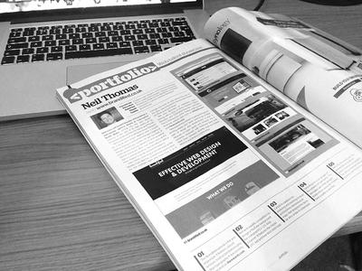 Featured in Web Designer Mag