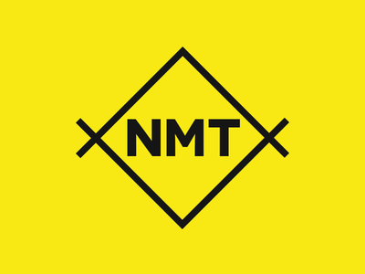 NMT Photography Logo clean simple colour yellow nmt photography branding logo