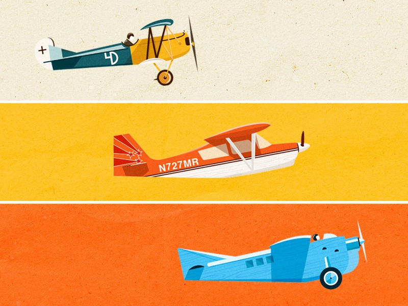Aviones avión plane illustration airplane ship martin