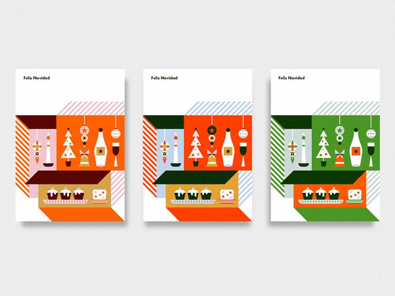 Christmas Cards by Martin Azambuja - Dribbble