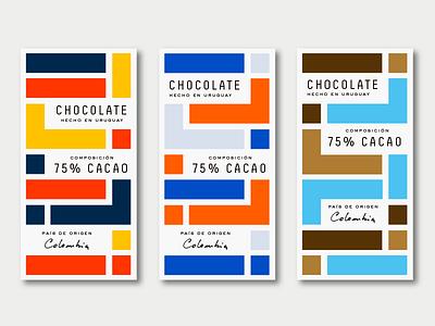 Chocolate azambuja martin box colors shapes vector packaging chocolate