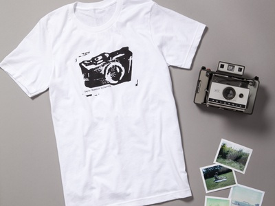 Camera Logo Shirt design illustraion logo design screen print logo camera logo camera