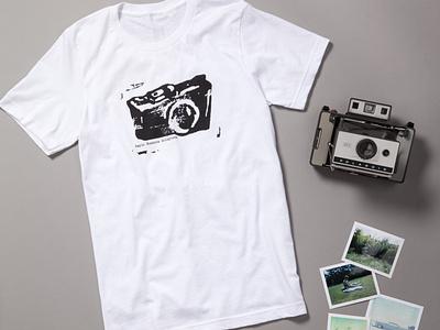 Camera Logo Shirt design illustraion logo design screen print logo camera logo camera