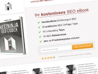 Landing Page - SEO-Book