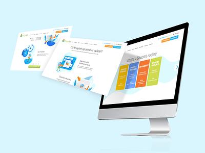 Shoptet website webdesign