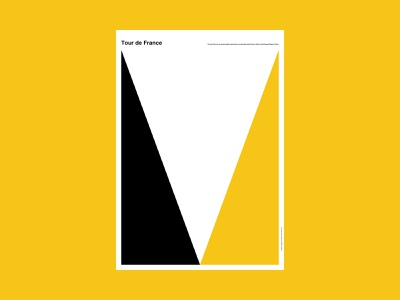 Tour de France bicycle france paris city abstract poster design poster a day poster illustration design art simple minimal