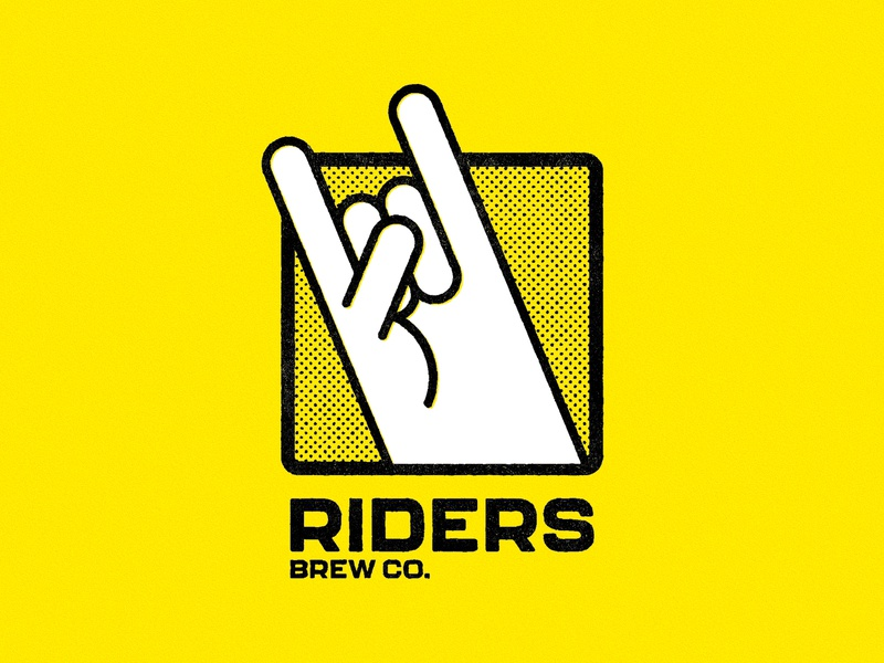 Riders Brew Co. – Rebrand, Logo packaging brand design brand identity beer label illustration branding beer can graphic design craft beer beer