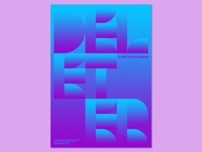31 Posters for 31 Albums: 8 /31 print design print graphic design poster design graphic designer poster designer graphic art visual art music music art gig poster typography