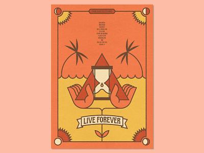 31 Posters for 31 Albums: 12/31 tarot card tarot print design print graphic design poster design graphic designer poster designer graphic art visual art music music art gig poster typography