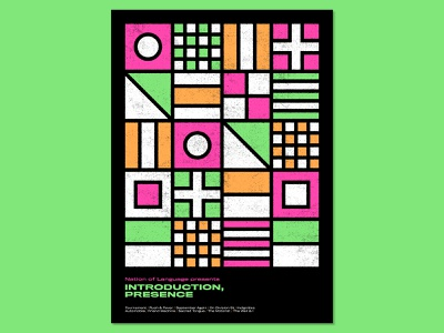 31 Posters for 31 Albums: 15/31 neon print design print graphic design poster design graphic designer poster designer graphic art visual art music music art gig poster typography