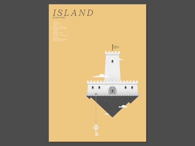 31 Posters for 31 Albums: 21/31 vector art fortress castle vector illustration print design print graphic design poster design graphic designer poster designer graphic art visual art music music art gig poster typography