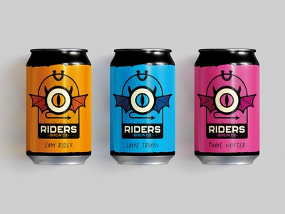 Riders Brew Co. - Branding Concept