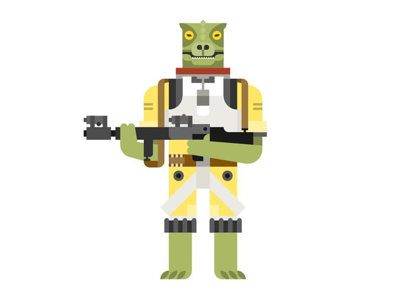 Bossk By Roger Strunk On Dribbble