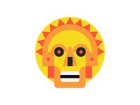 Skull - Aztec Inspired