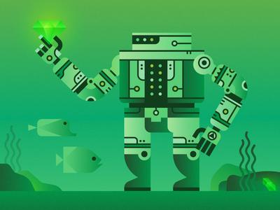 Robot Treasure Hunter