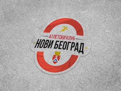 AC Novi Beograd - Logo Concept serbia running concept athletic logo