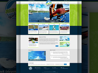 Alacati Surf Point Website & Logo