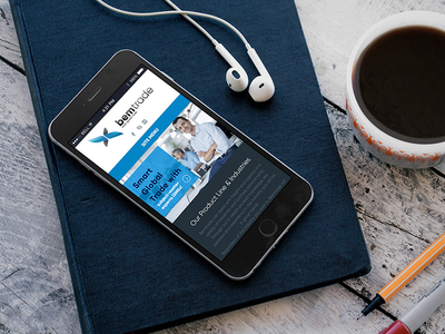 Global Trade Company Website joomla responsive webdesign