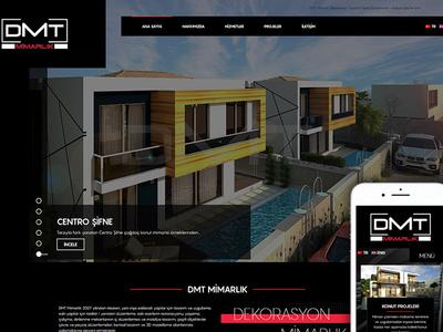 Dmt Mimarlik Alacati Cesme Web Tasarim architecture webdesign web design