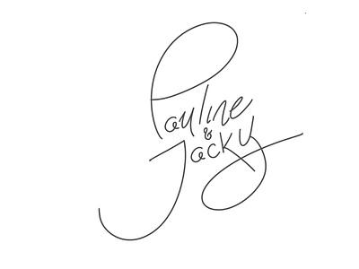 wedding invitation calligraphy procreate calligraphy