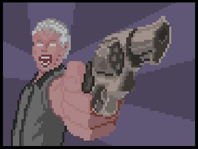 After Sleep Comics - Scream for me 16-bit aftersleep character comic comix gif horror illustration pixel pixelart retro