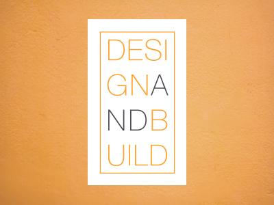 Design and Build Logo commercial hero zero design build logo architechture