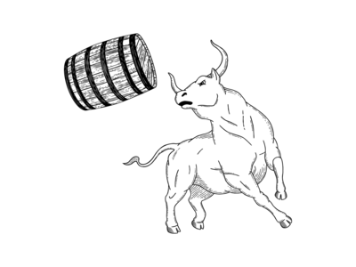 Hard Way Cider Illustration—Rogue