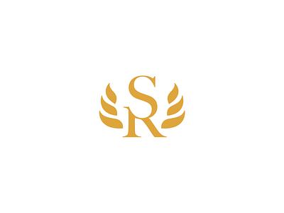 Sylvia Rodriguez vector illustrator identity logo mark immigration politics lawyer law firm typogaphy golden eagle eagle gold branding logo