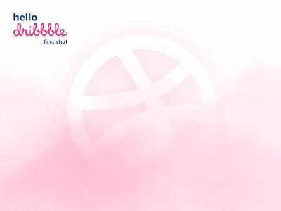 Hello Dribbble! thanks invite invitation follow design creative art shot first dribbble hello