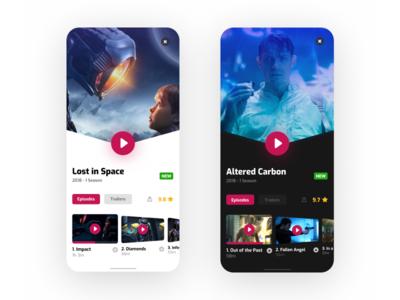 Series Detail Screen
