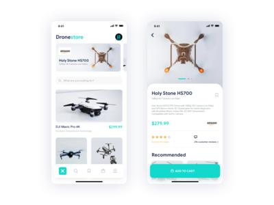Drone Store Concept Design