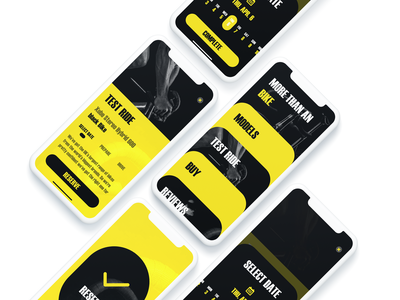 Bikeyee App UI Kit design dailyui daily branding application app iphone xs kit cycle bikeyee bike app uikit