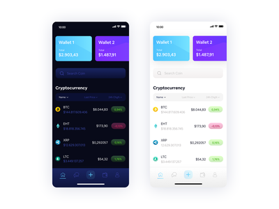 Crypto Currency App wallet currency bitcoin crypto currency exchange cryptocurrency crypto wallet userinterface ux ui design