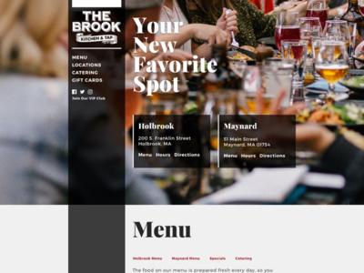 The Brook Kitchen & Tap - Design v2