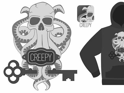 Creepy Logo Idea logo design