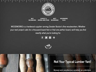 WoodWorks Boston bootstrap drupal front-end development web design
