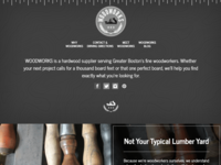 WoodWorks Boston bootstrap drupal front-end development web design