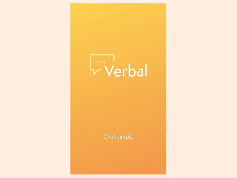 Verbal™ Messaging App - Brand Identity & UI Design by Aaron