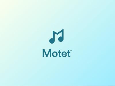 Motet™Music App - Brand Identity & UI Design development frontend javascript spotify startup identity brand ux ui app design music